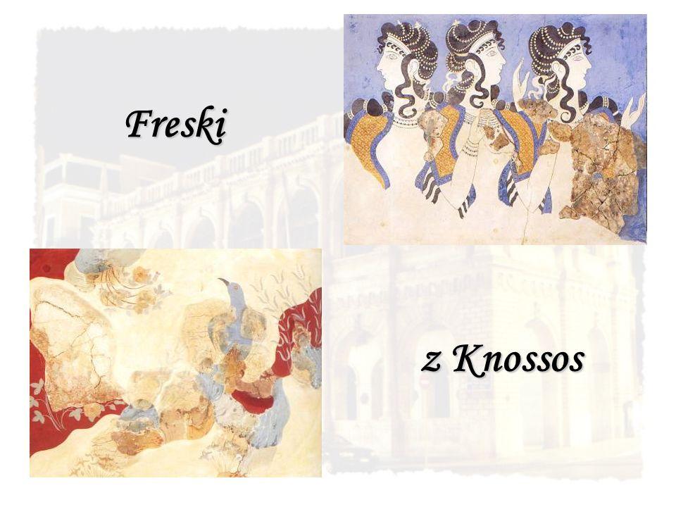 Freski z Knossos