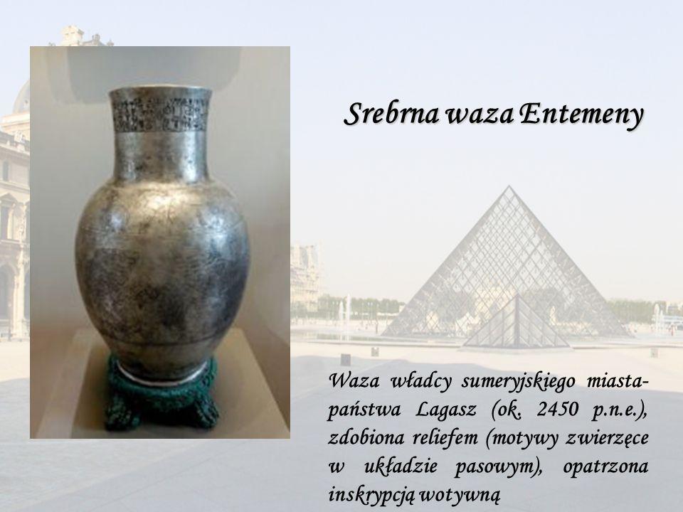 Waza władcy sumeryjskiego miasta- państwa Lagasz (ok.