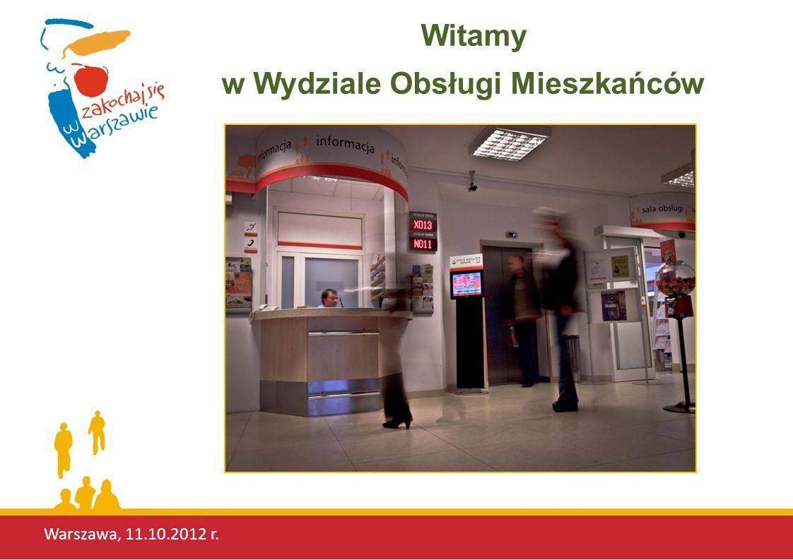 Warszawa, 11.10.2012 r. przyjazna przestrzeń