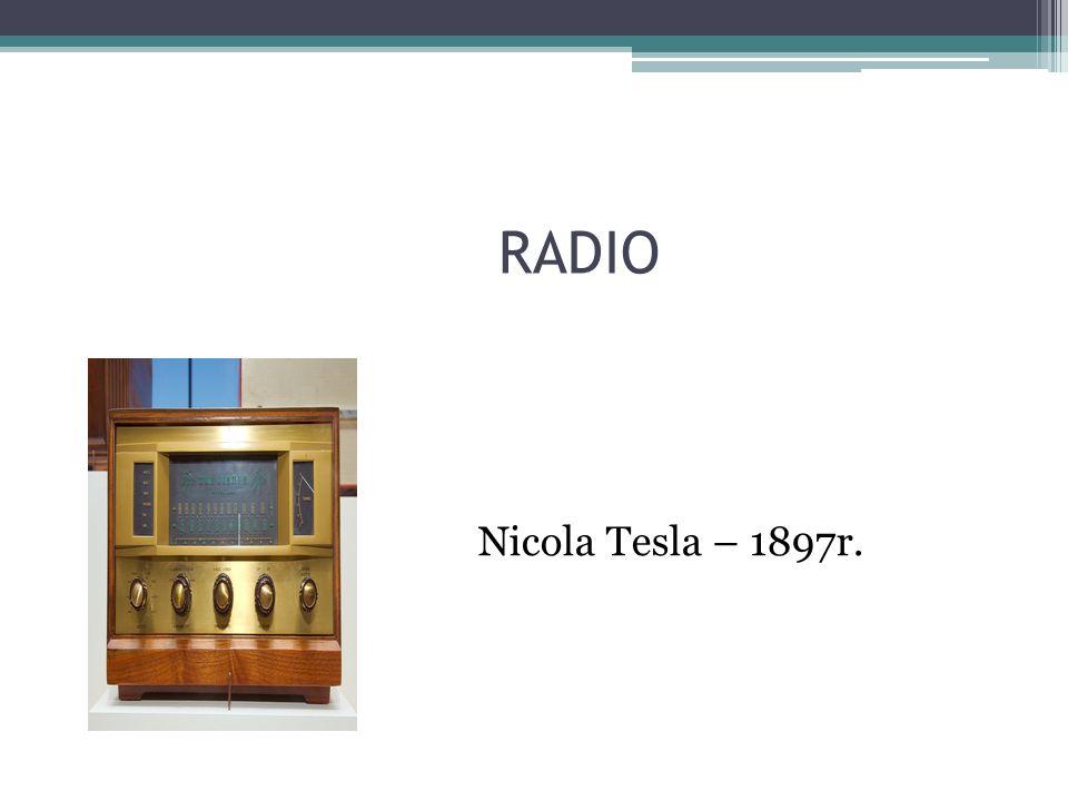 RADIO Nicola Tesla – 1897r.