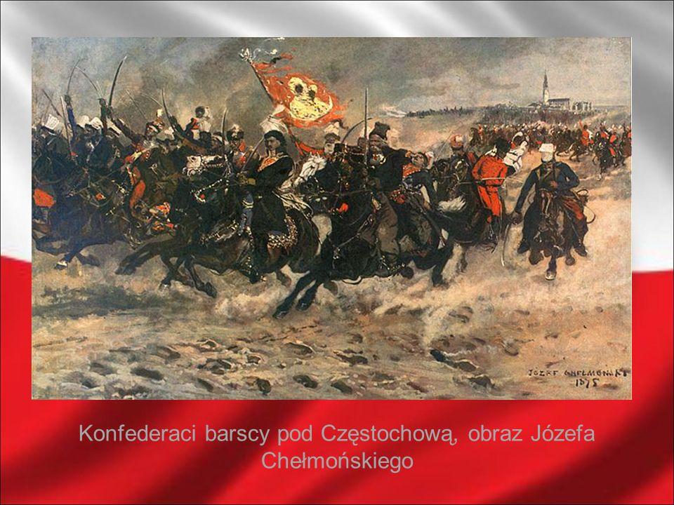 Bitwa; obraz Artura Grottgera
