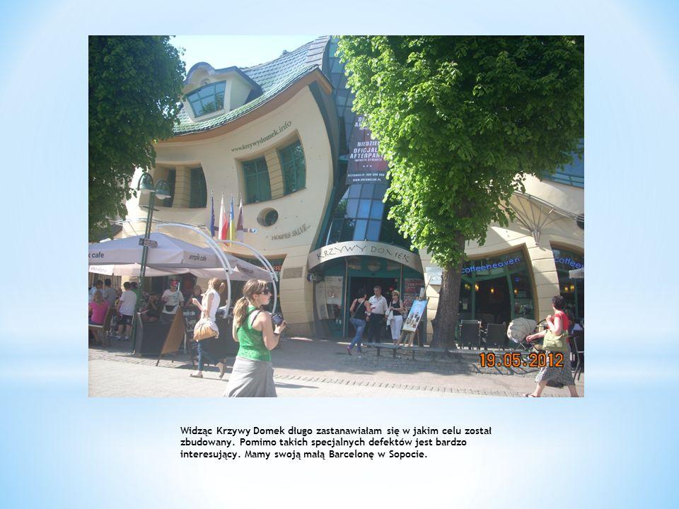 Widząc Krzywy Domek długo zastanawiałam się w jakim celu został zbudowany. Pomimo takich specjalnych defektów jest bardzo interesujący. Mamy swoją mał