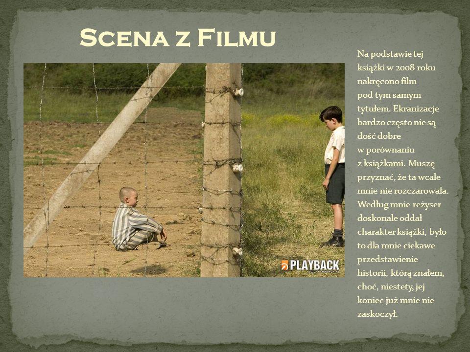 Na podstawie tej książki w 2008 roku nakręcono film pod tym samym tytułem. Ekranizacje bardzo często nie są dość dobre w porównaniu z książkami. Muszę