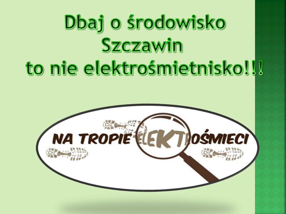 Zbiórka elektrośmieci w szkole w Szczawinie.Dnia 16.04.13r.