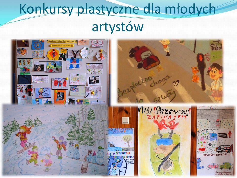 Konkursy plastyczne dla młodych artystów