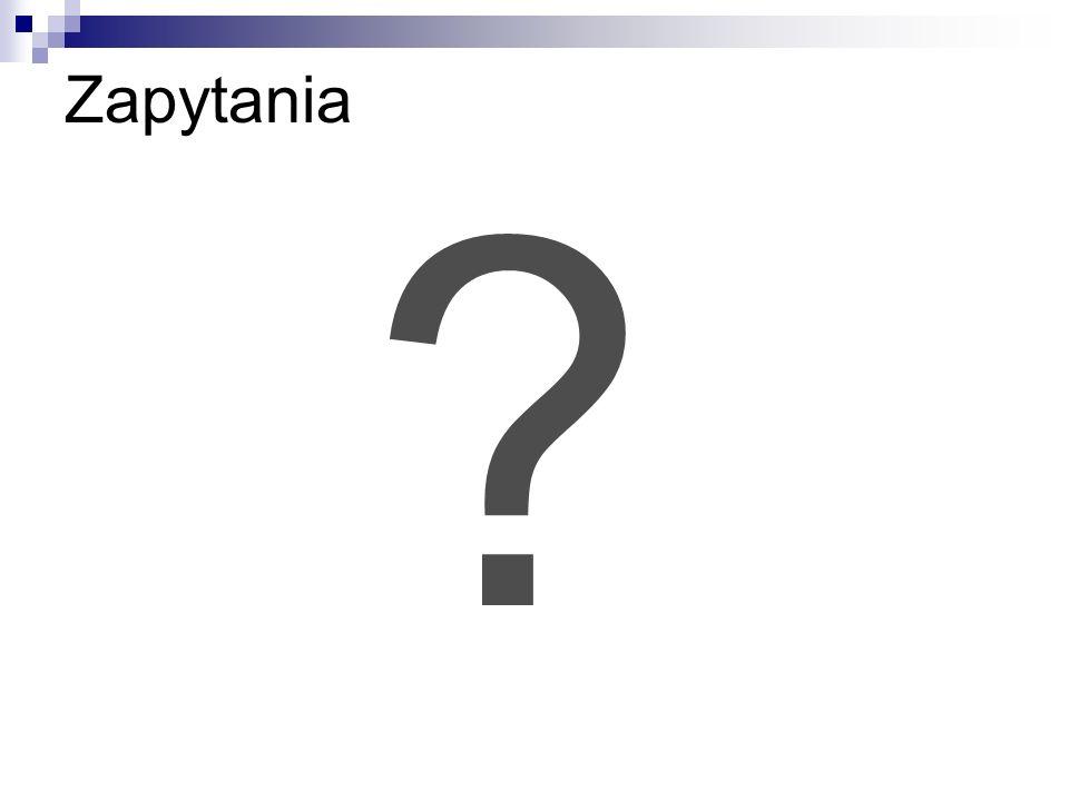 Zapytania ?