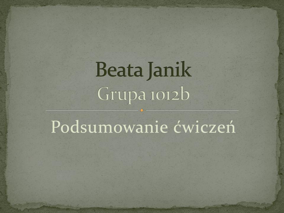 Mam na imie Beata.Urodzilam sie w Krakowie i wlasnie obchodze 20 urodziny.