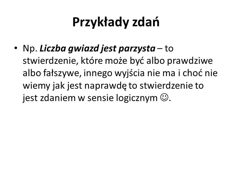 Przykłady zdań Np.