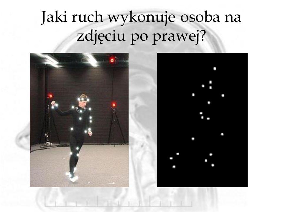 Jaki ruch wykonuje osoba na zdjęciu po prawej?