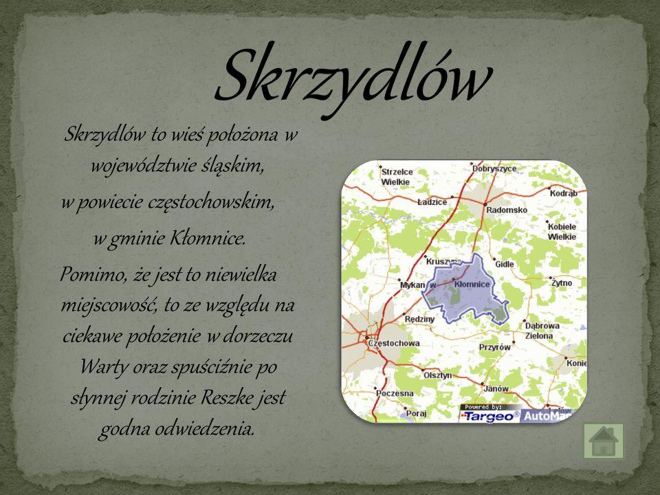 Skrzydlów to wieś położona w województwie śląskim, w powiecie częstochowskim, w gminie Kłomnice. Pomimo, że jest to niewielka miejscowość, to ze wzglę