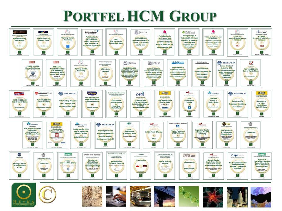 P ORTFEL HCM G ROUP