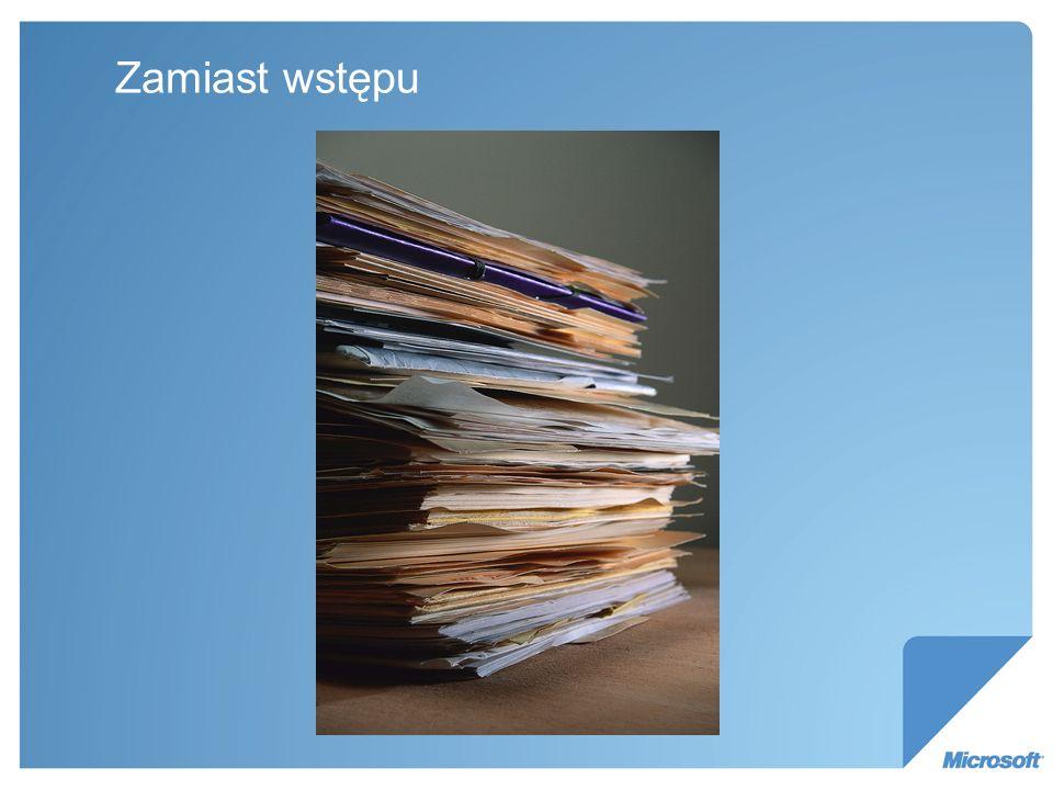 Wyzwania – przypadek 2 Ewidencja dokumentów wchodzących i wychodzących, kto zajmuje się sprawą.