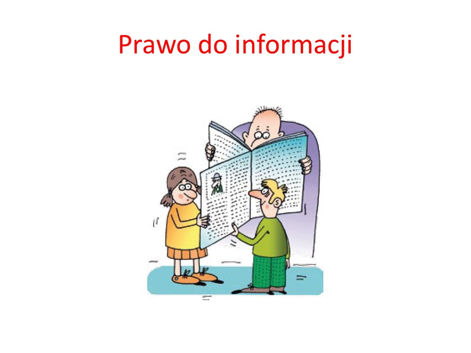 Prawo do informacji