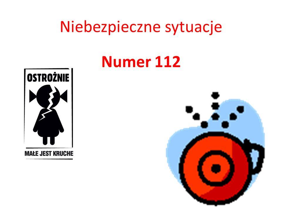 Niebezpieczne sytuacje Numer 112