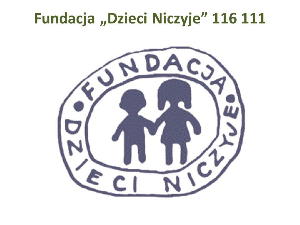 Fundacja Dzieci Niczyje 116 111