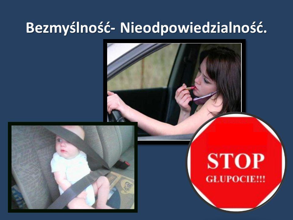 …najczęściej sprawcami wypadków w 2012 roku byli mężczyźni, którzy spowodowali 74,6% wypadków, natomiast kobiety spowodowały ich 21%