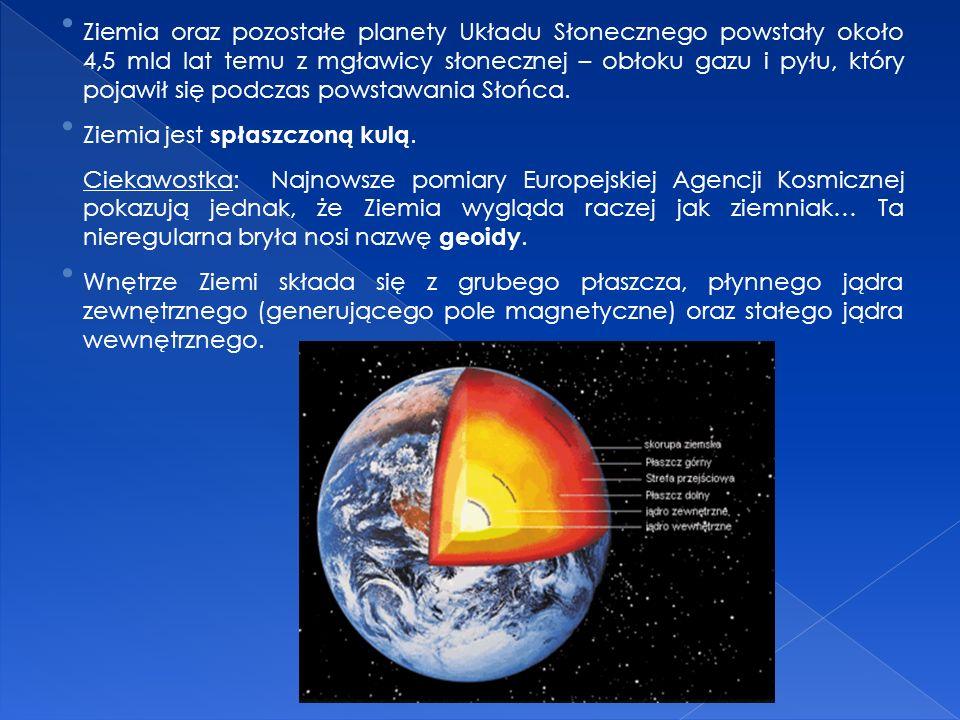 Ziemia to trzecia, licząc od Słońca, a piąta co do wielkości planeta Układu Słonecznego. Nasza planeta jest wyjątkowym ciałem niebieskim w naszym Ukła