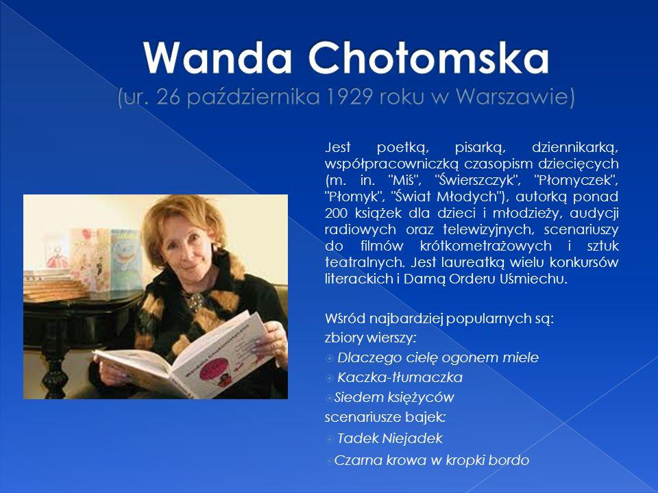 Jest poetką, pisarką, dziennikarką, współpracowniczką czasopism dziecięcych (m.