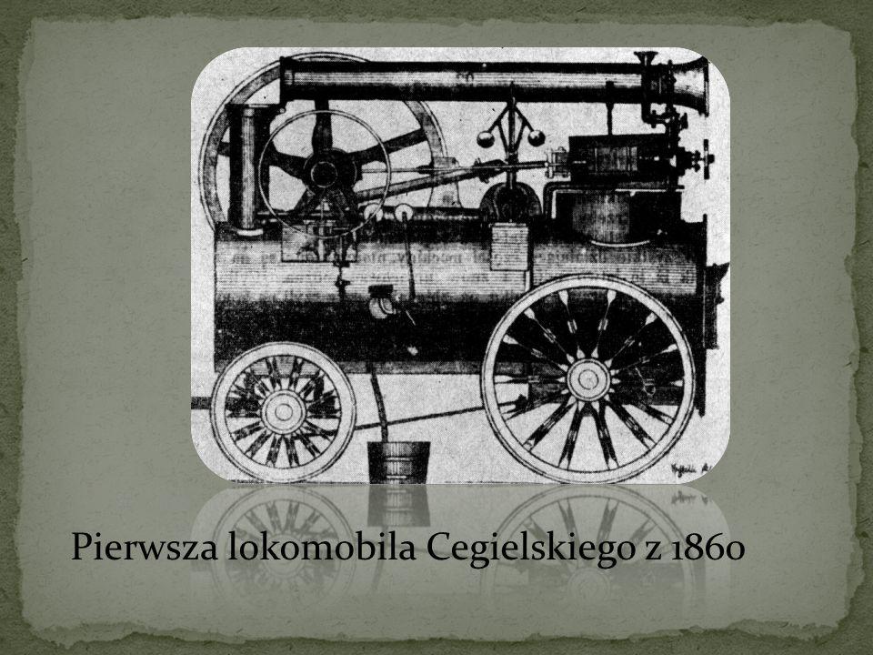 Pierwsza lokomobila Cegielskiego z 1860
