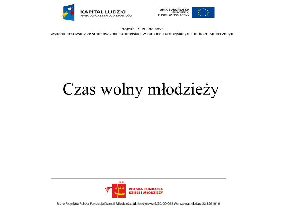 Należy na większą skalę dotrzeć do młodzieży z informacją o proponowanych formach aktywności z zastosowaniem odpowiednich kanałów i atrakcyjnym przekazem Relatywnie niewiele młodzieży zna ofertę kulturalna ponadto jest ona postrzegana jako mniej atrakcyjna niż w innych częściach Warszawy Wniosek Rekomendacja