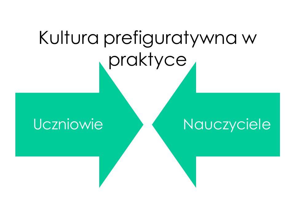 Kultura prefiguratywna w praktyce UczniowieNauczyciele