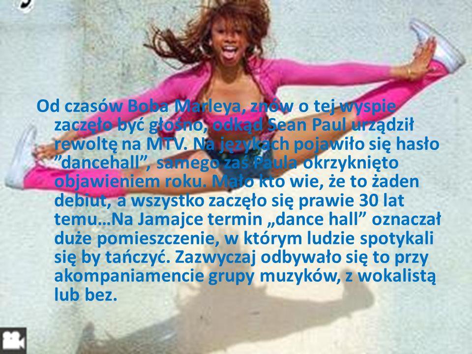 Taniec dancehall to przede wszystkim kroki.