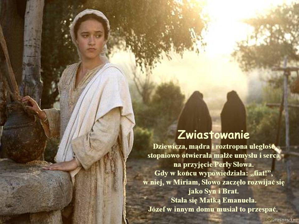 Wniebowzięcie Gdy przyszedł po Nią Jezus, odchodziła od Jana omijając groby.