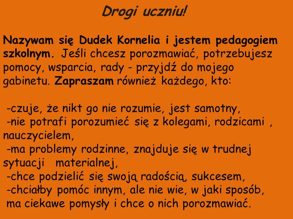 DZIĘKUJĘ ZA UWAGĘ POZDRAWIAM Kornelia Dudek Bibliografia: 1.http://pl.wikipedia.org/wiki/Pedagogikahttp://pl.wikipedia.org/wiki/Pedagogika 2.