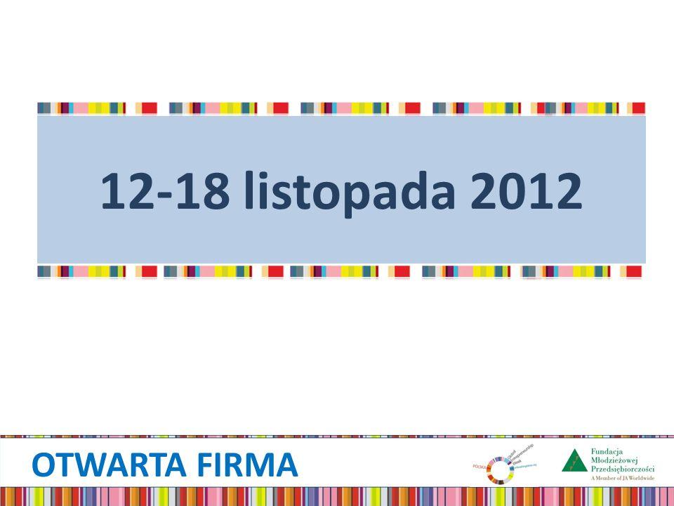 12-18 listopada 2012