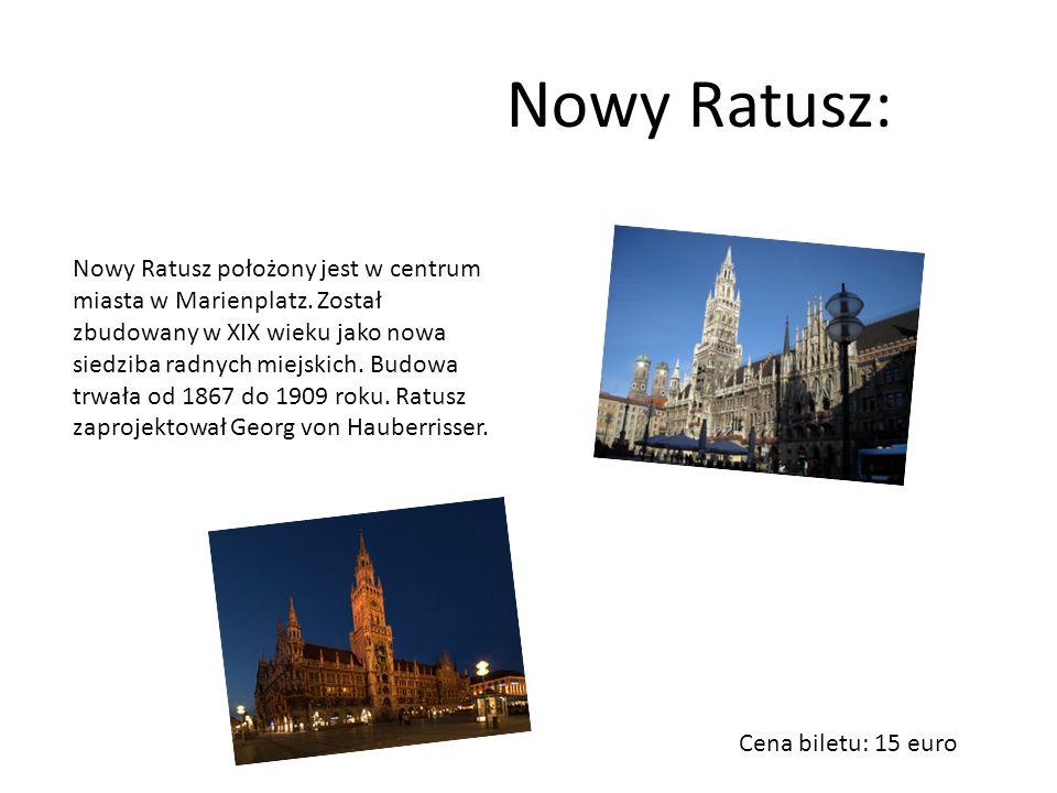 Symbol Monachium. Świątynia stoi na niewielkim placyku, parę kroków na zachód od ratusza. Frauenkirche zwany jest też katedrą z wieżami zwieńczonymi m