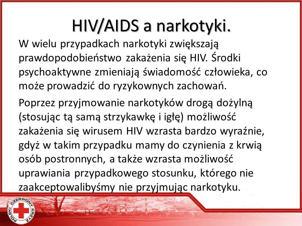 HIV/AIDS a narkotyki.