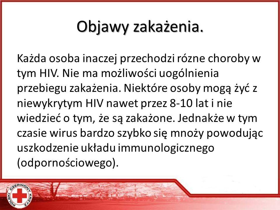 Dane epidemiologiczne HIV/AIDS w Polsce (od 1985 do 31 maja 2011) 14 725 zakażonych ogółem co najmniej 5 849 zakażonych w związku z używaniem narkotyków 2 623 zachorowań na AIDS 1 103 chorych zmarło