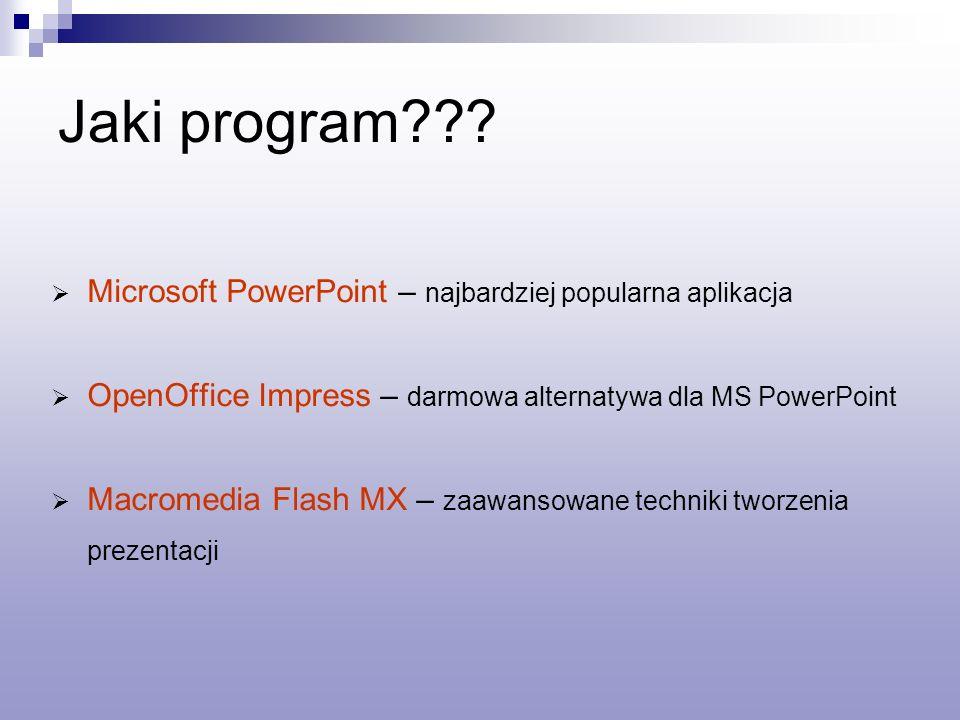 Jaki program??.