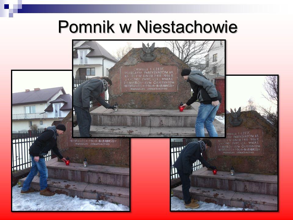 Pomnik w Niestachowie