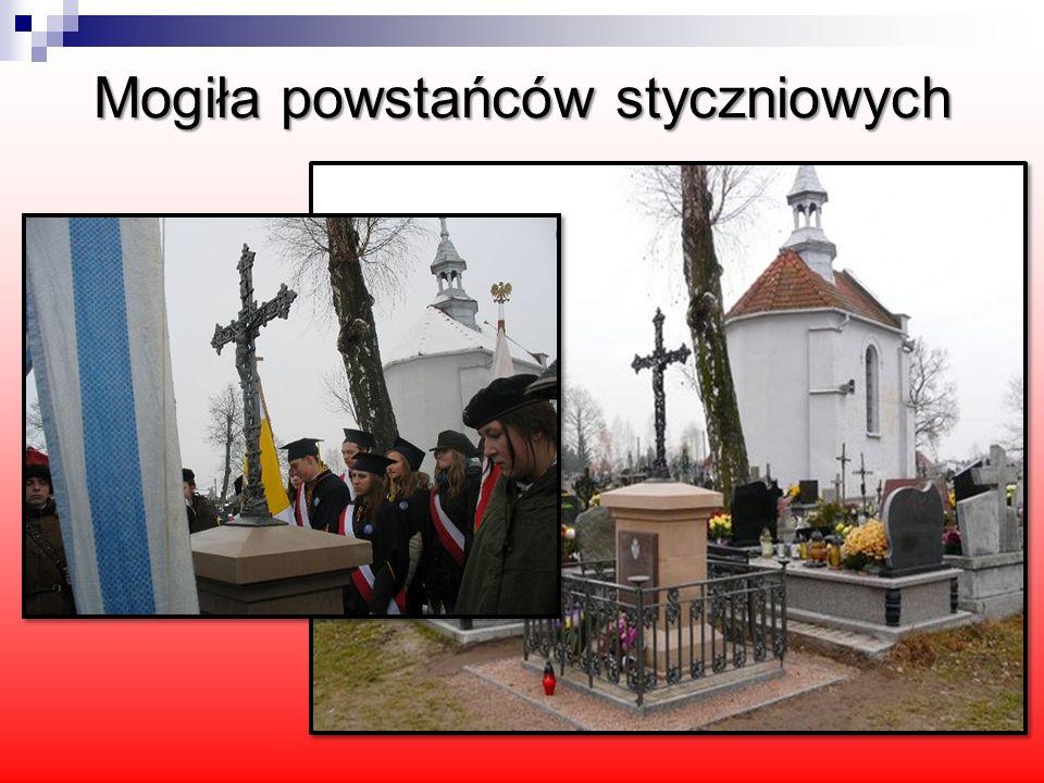 Na cmentarzu w Daleszycach znajduje się mogiła powstańców z 1863 roku, gdzie pochowano kilku partyzantów.