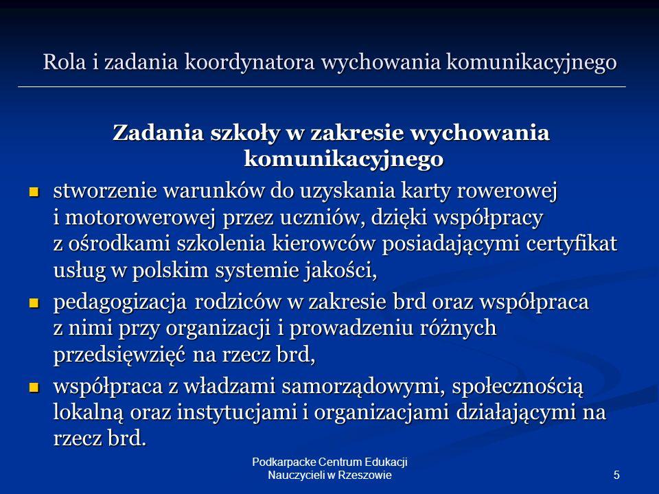 16 Podkarpacke Centrum Edukacji Nauczycieli w Rzeszowie Prosimy o przesyłanie przykładów dobrej praktyki na adres PCEN lub bezpośrednio na mój adres e-mailowy: jstryjkowski@pcen.rzeszow.pl