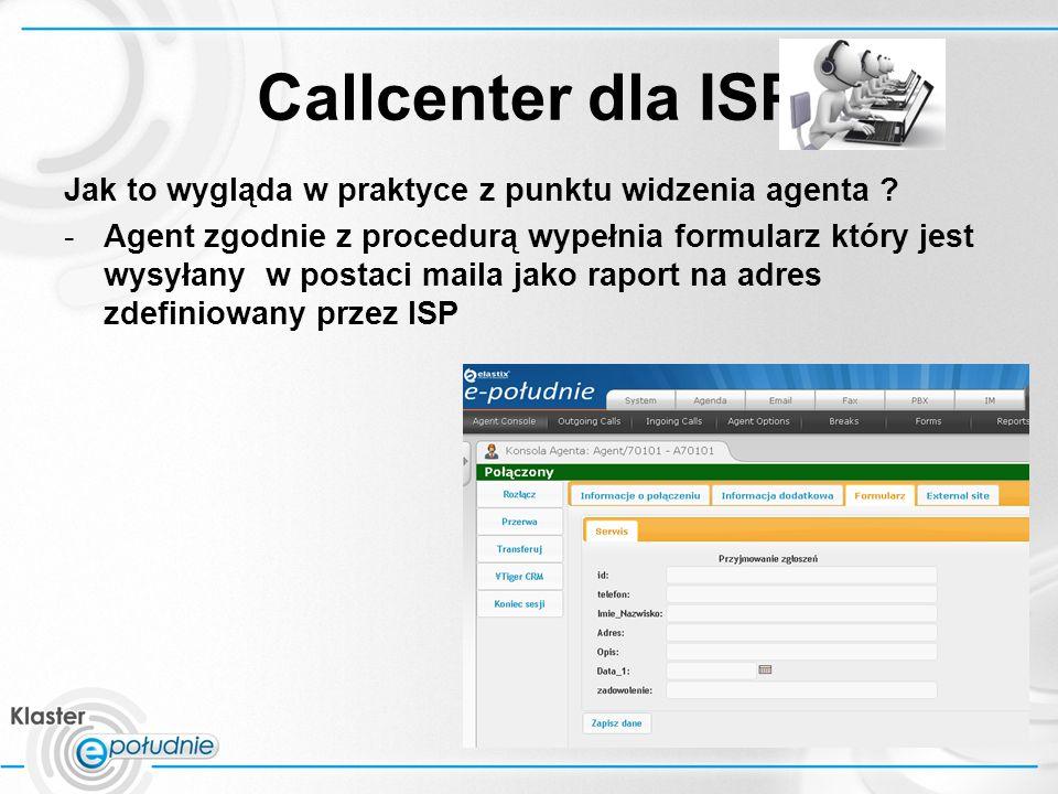 Callcenter dla ISP Jak to wygląda w praktyce z punktu widzenia agenta .