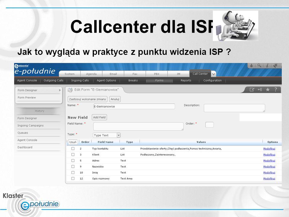 Callcenter dla ISP Jak to wygląda w praktyce z punktu widzenia ISP