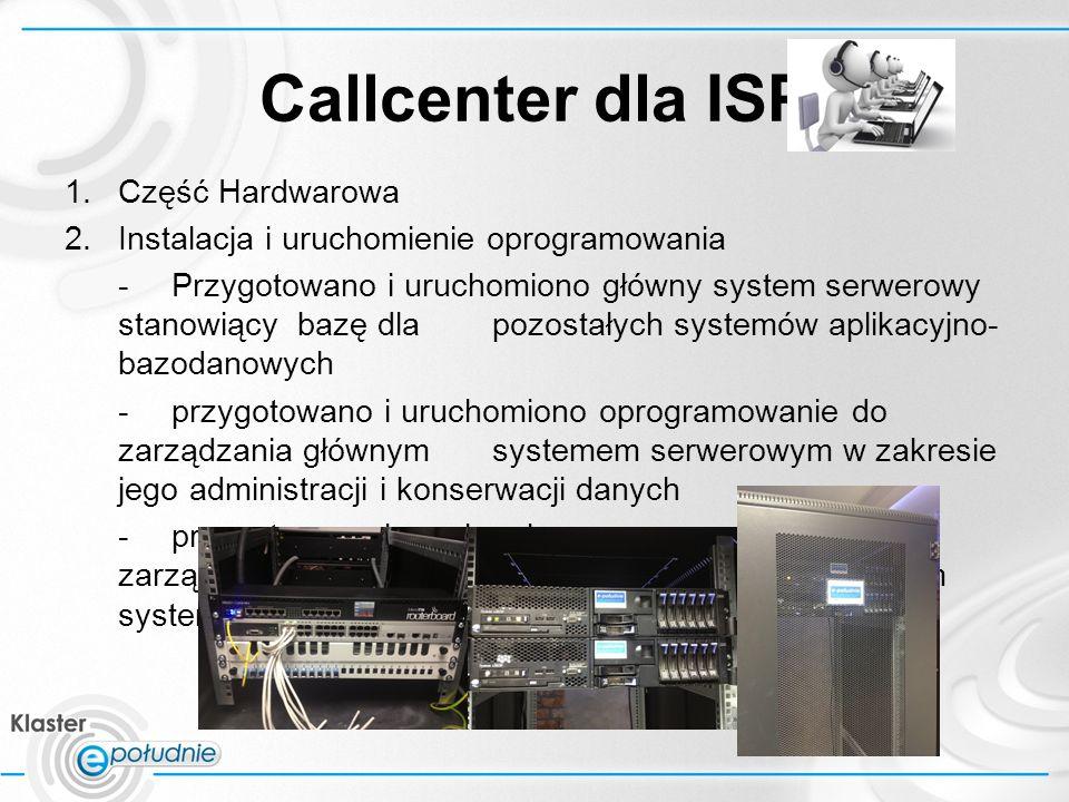 Callcenter dla ISP RAPORT VIA MAIL CC v 1 – jednokierunkowe – start pilotażu 16.09.2013 Unikalny nuemr ID