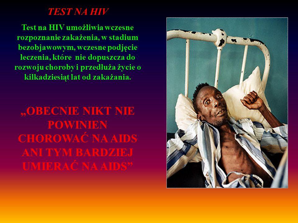 Wczesne wykrycie zakażenia wirusem HIV Test na HIV!!.