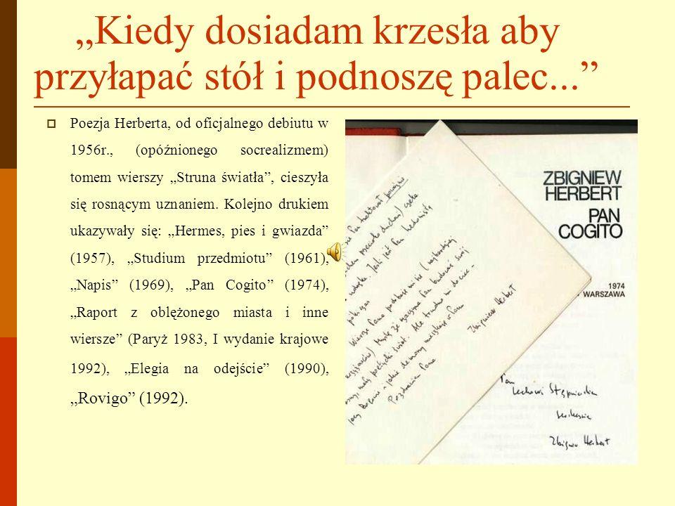 Eseje i krótkie prozy MARTWA NATURA Z WĘDZIDŁEM, 1993 EPILOG BURZY, 1998 LABIRYNT NAD MORZEM, 2000 KRÓL MRÓWEK, 2001 WĘZEŁ GORDYJSKI ORAZ INNE PISMA ROZPROSZONE, 2001.