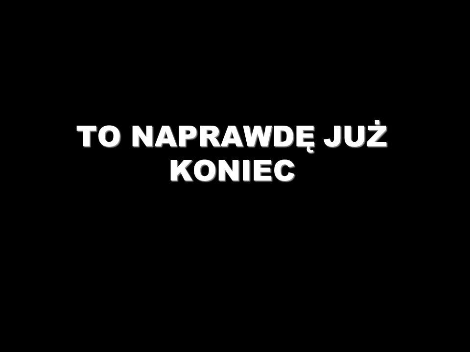Historia Sztuki Pięknej - Barbara Wójcik klasa II c TO NAPRAWDĘ JUŻ KONIEC