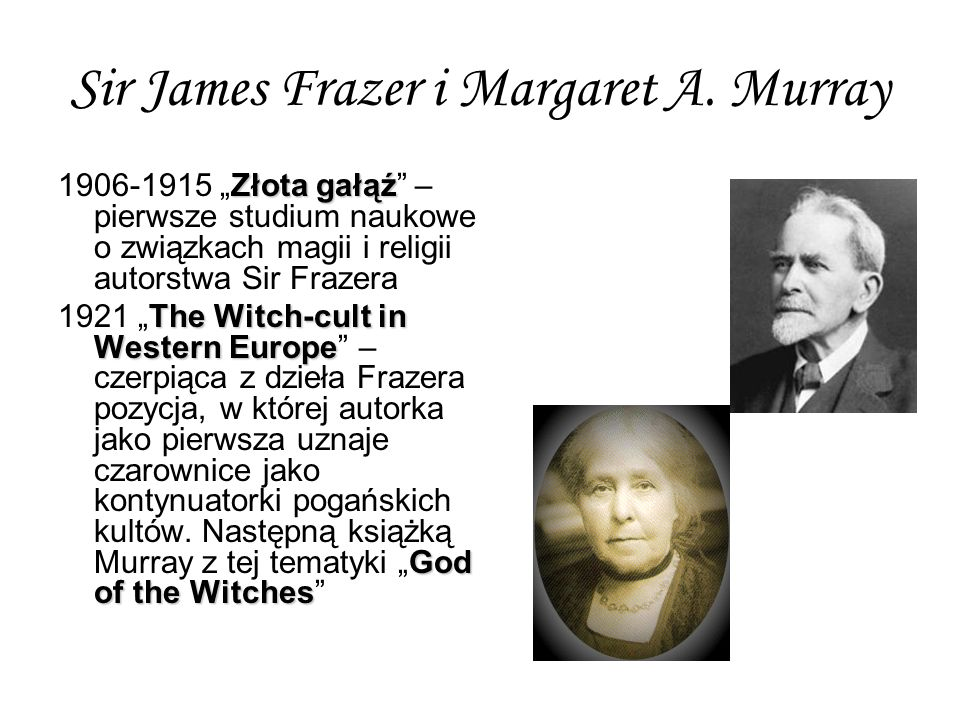 Sir James Frazer i Margaret A.