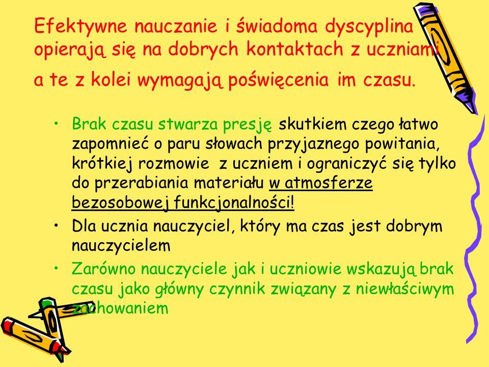 Przywracanie normalnych relacji W polskiej szkole niemal wszystkie interwencje kończą się najczęściej reprymendą słowną i (lub) karą.