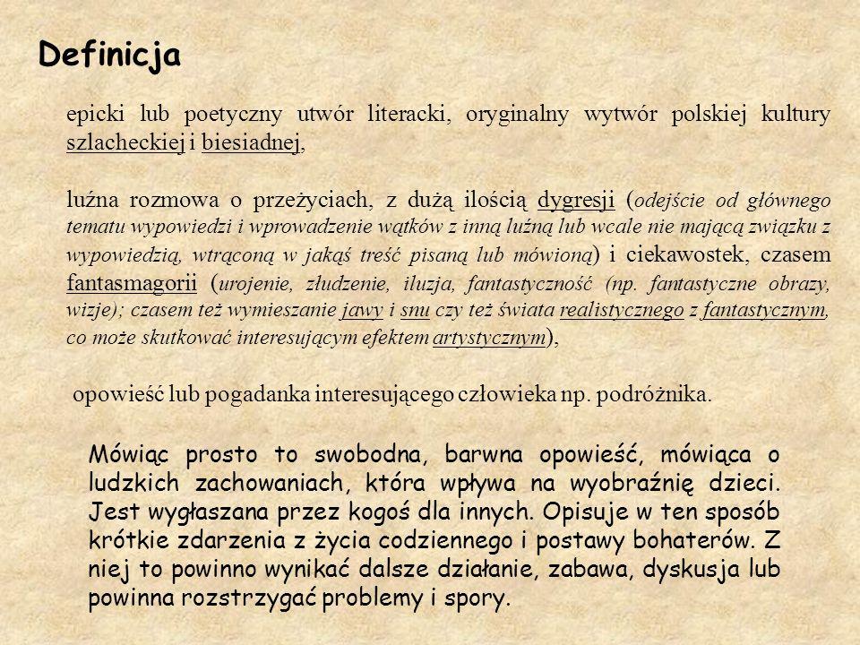 Gawęda jako zuchowa forma pracy Opracowanie: phm. Dagmara Kiryluk HR