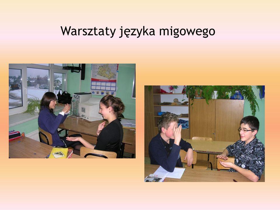 Warsztaty języka migowego