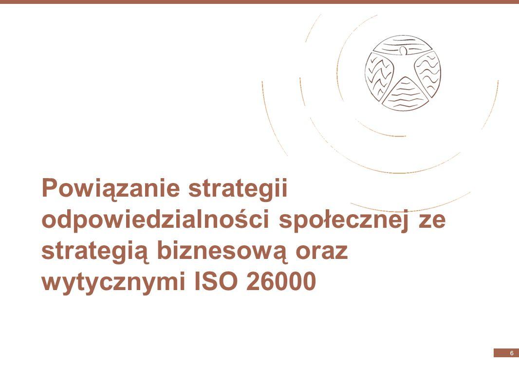 Wizja odpowiedzialności społecznej KGHM Polska Miedź S.A. w perspektywie 2018 r. 5 KGHM to stabilnie rozwijający się, profesjonalny, globalny lider, d