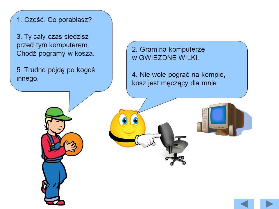 OBSADA Bartek Miłosz uzależniony od komputera Kuba Arek Mikołaj