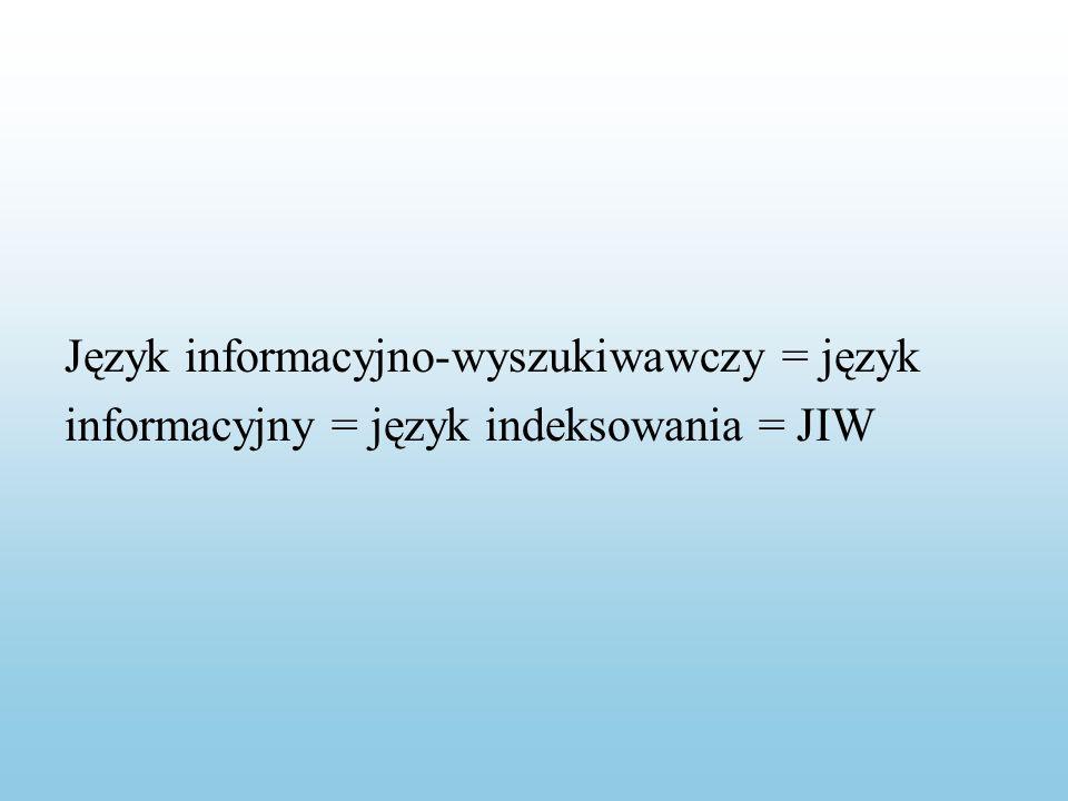 Słownictwo JIW jest zazwyczaj rejestrowane w słownikach JIW.