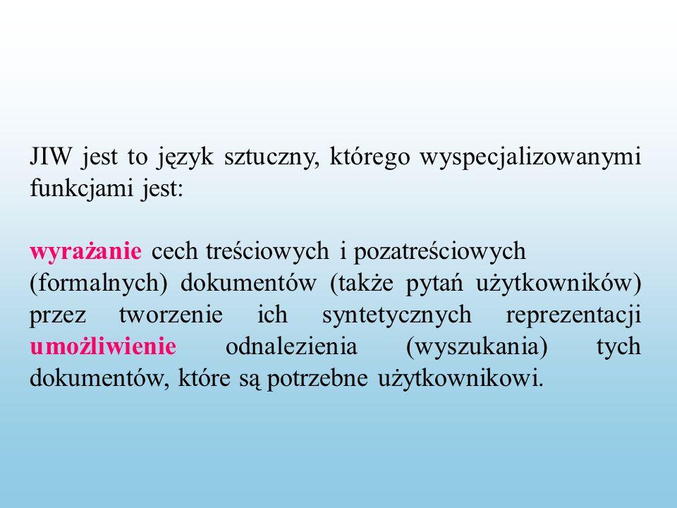 Gramatyka zerowa Mamy z nią do czynienia w klasyfikacjach w pełni wyliczających, tj.